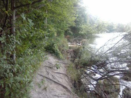 erodierender Trail