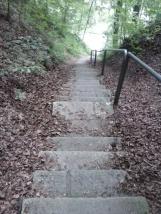 Treppentraining (dieses Biest hat 183 Stufen)