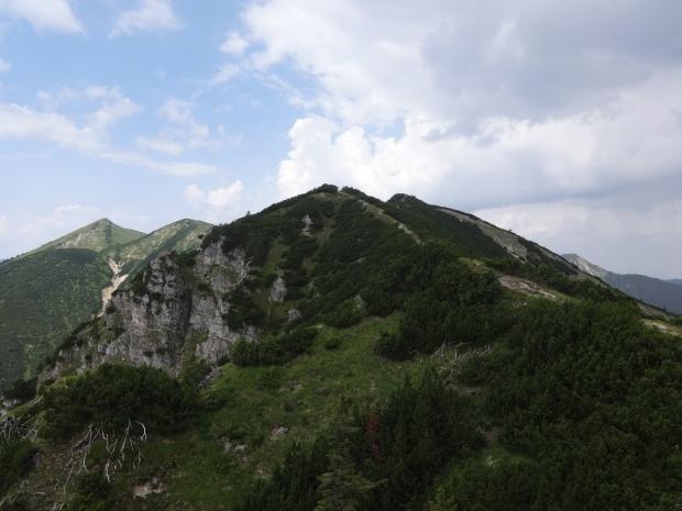 Brünstelkopf (Vordergrund) und Felderkopf (Hintergrund)