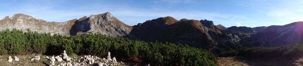 Die Gipfel des Rofan