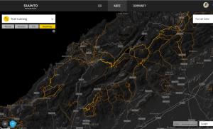 Suunto movescount Heatmap - Tramuntana Gebirge Westküste, rund um Port de Soller - die Qual der Wahl!
